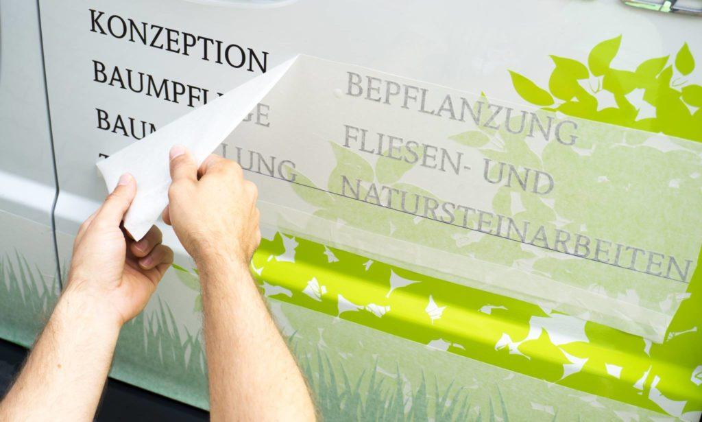 Beschriftung in Köln