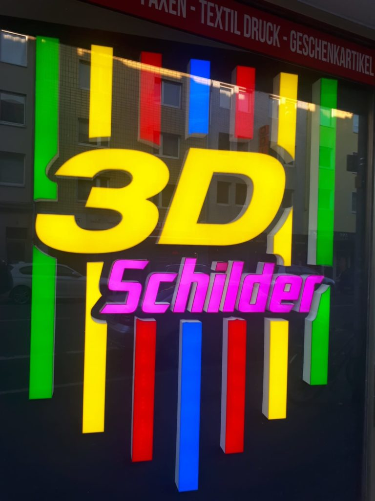 3D LED Technik in Köln